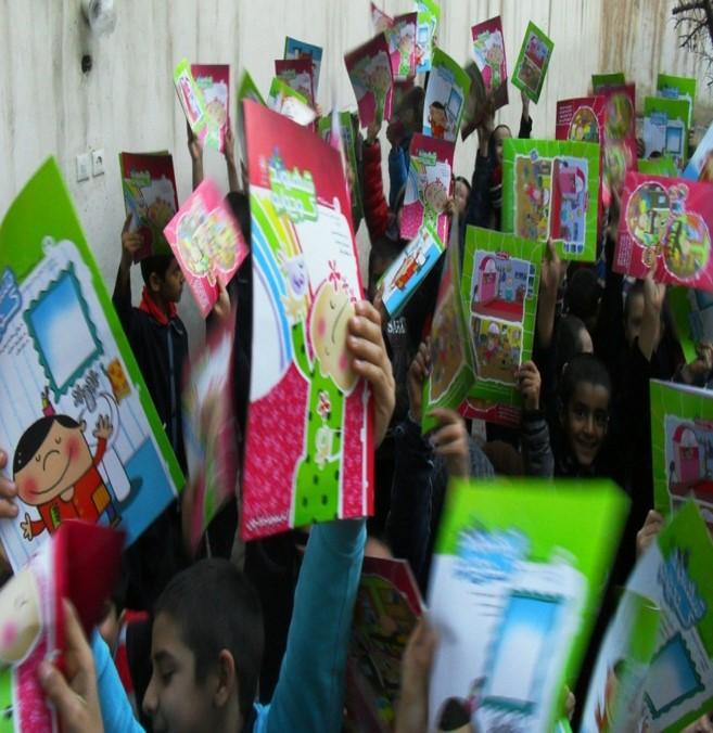 «شهروند کوچولو» در میان دانش آموزان مراکز آموزشی حامی در مشهد