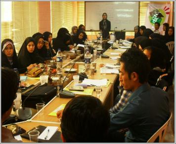 نشست ادواری تسهیلگران محلی مهاجر در مشهد