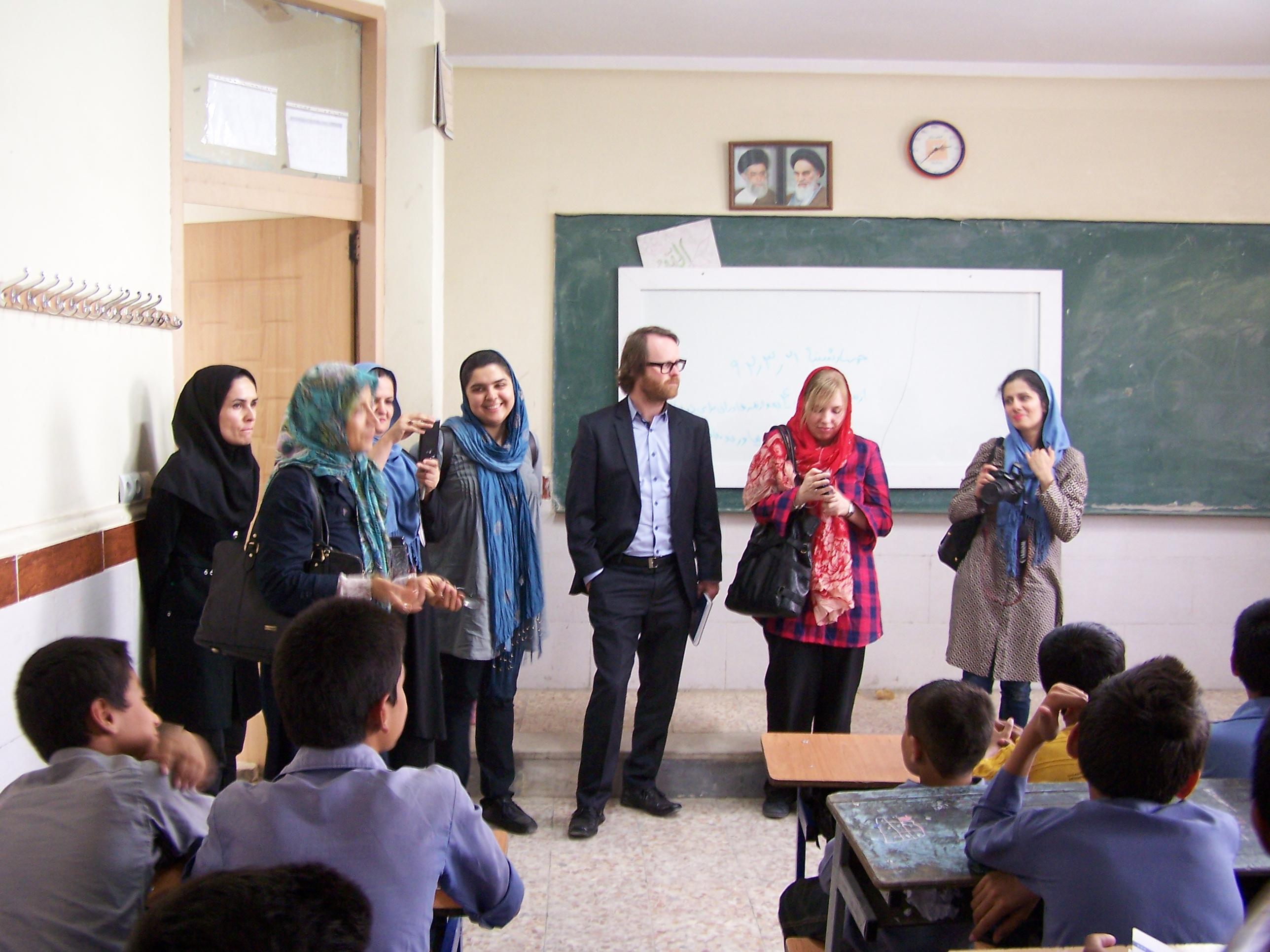 بازدید سازمان های بین المللی از مرکز آموزش پایه شورآباد