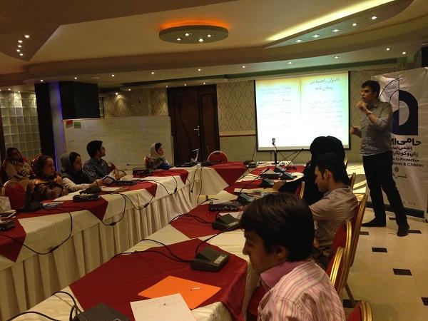 کارگاه« گزارشگری اخلاقی در حوزه کودکان » برگزار شد