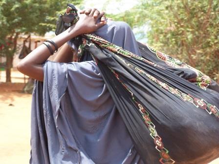 آلبوم عکس، مرور خاطرات: دیدار حامی از کمپ پناهندگان سازمان ملل در سومالی