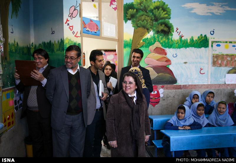 بازدید هیأت رسانهای افغانستان از مراکز آموزش پایهی حامی در شورآباد