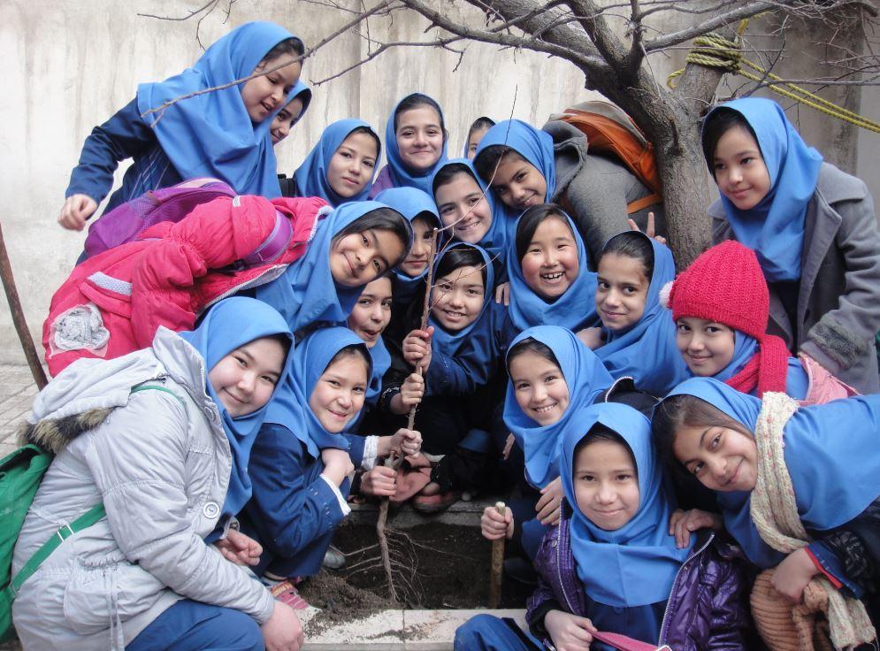 روز درختکاری در مرکز حامی واحد مشهد
