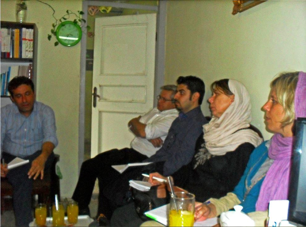 بازدید مسئولان منطقه ای صلیب سرخ از دفتر حامی در مشهد