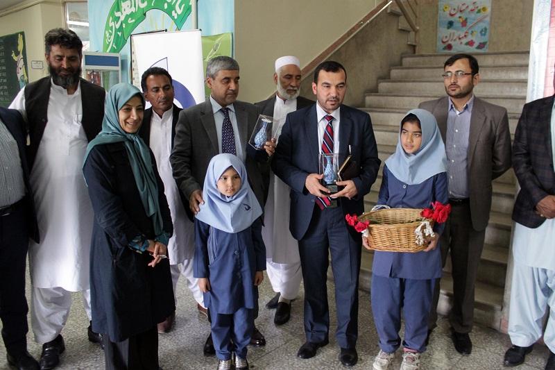 بازدید هیات عالی رتبه افغانستانی از مراکز آموزش حامی
