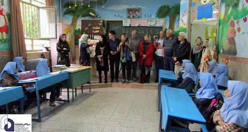 بازدید هیأت استرالیایی از مرکز آموزش پایه حامی در شورآباد