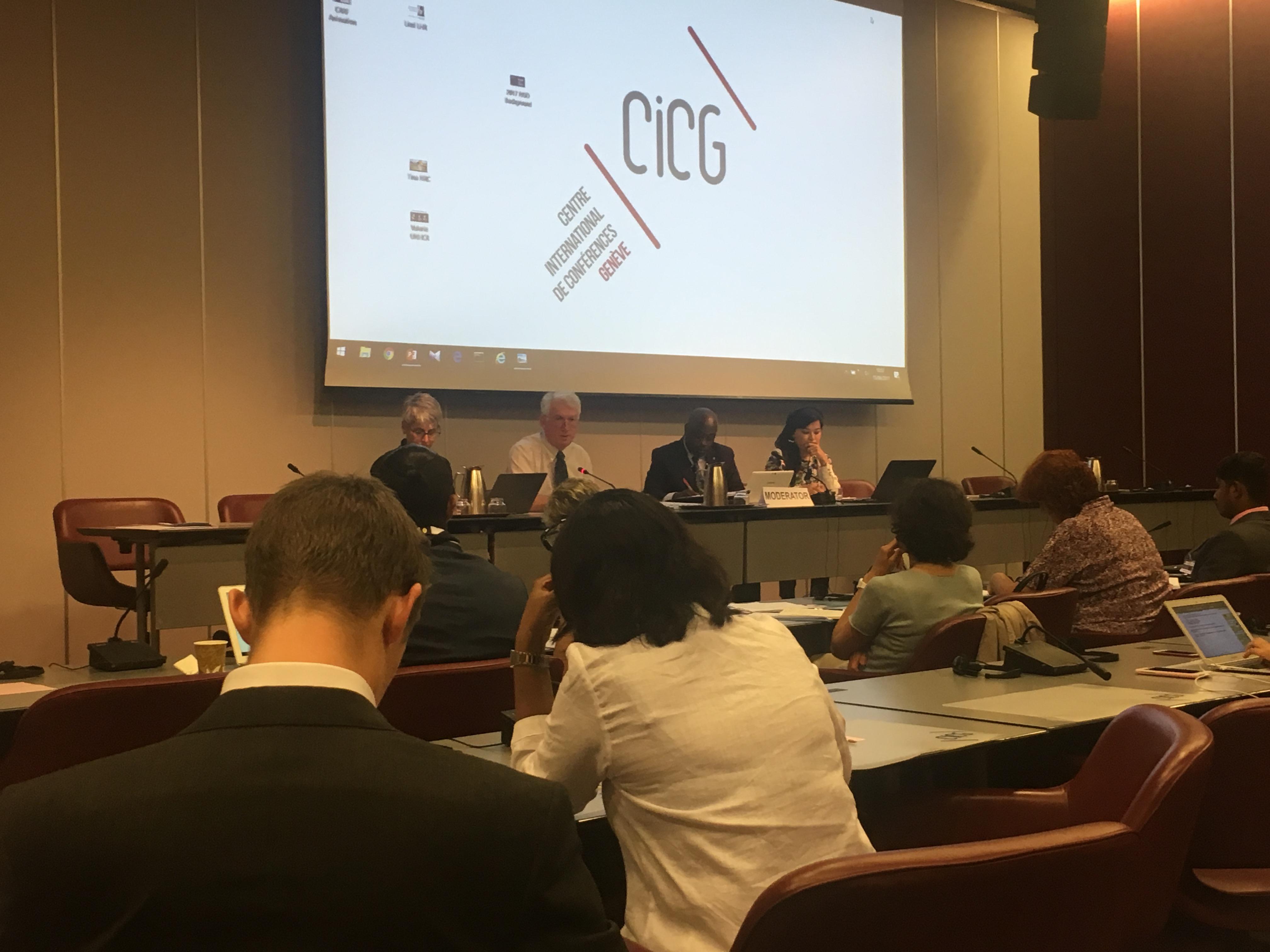 گزارش نمایندهی انجمن حامی از نشست مشورتی سالانهی کمیساریای عالی سازمان ملل متحد در امور پناهندگان با انجیاوها، ژنو، ۱۶ - ۱۴ ژوئن ۲۰۱۷