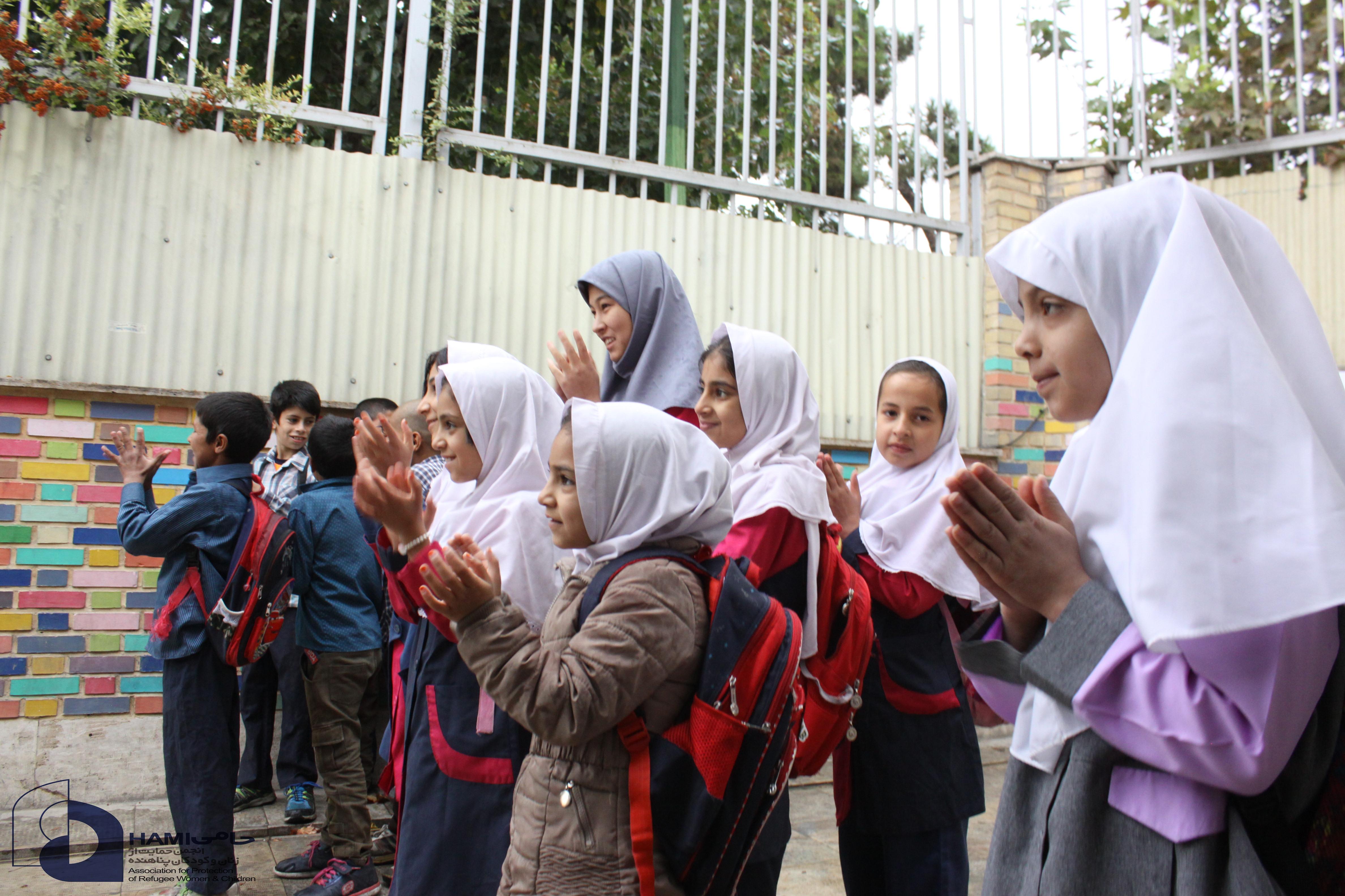 آموزش کودکان پناهنده و مهاجر در ایران