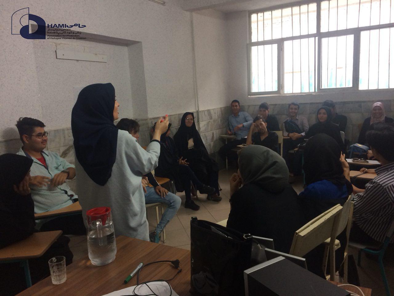 روایتی از برگزاری کارگاه های آموزشی مرکز خدمات جامع اجتماعی حامی قم
