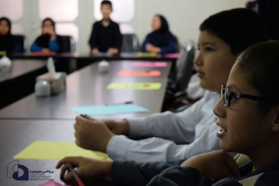 گزارش تصویری کارگاه آموزشی کنترل خشم مرکز حامی مشهد