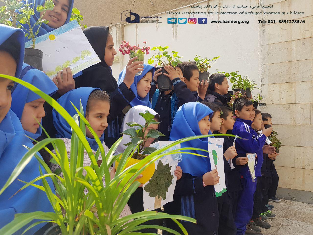 به پیشواز بهاران؛ روز درختکاری در مراکز انجمن حامی