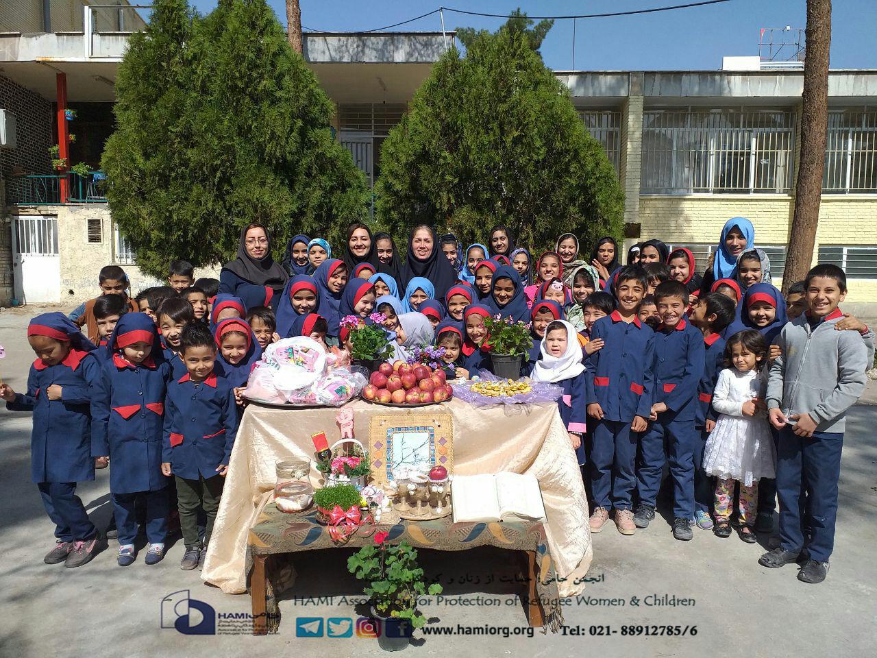 به سوی ایستگاه اول بهار؛ جشن عیدانه مرکز حامی سمنان