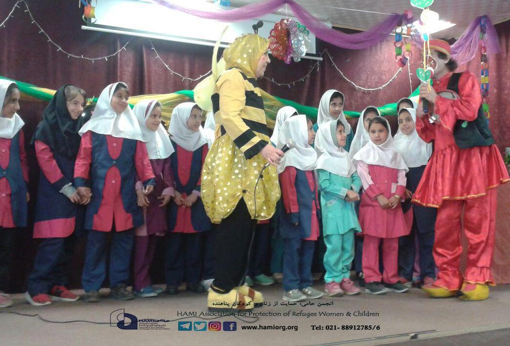 به پیشواز نخستین ترانه های بهار؛ جشن عیدانه دانش آموزان حامی جنت آباد