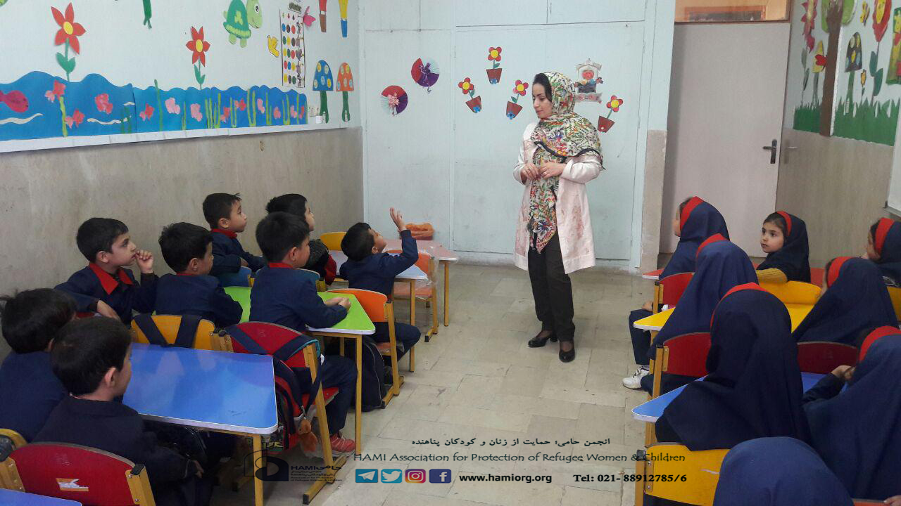 برگزاری کارگاه آموزشی مراقبت از خود برای دانش آموزان حامی سمنان