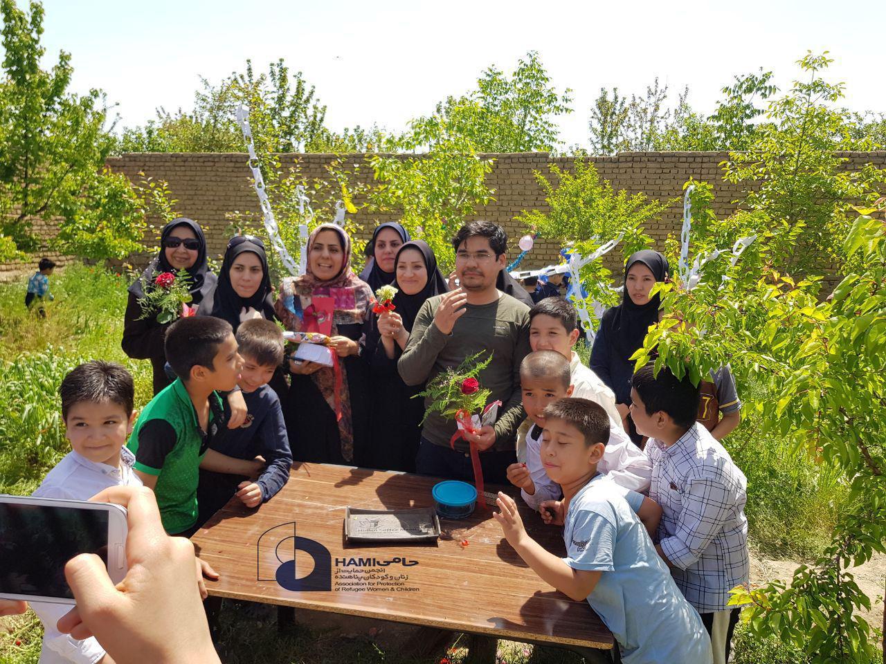 جشن روز معلم انجمن حامی
